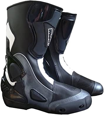 bottes moto anti-torsion