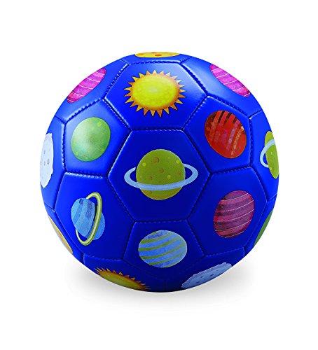 (Crocodile Creek 2214-1 3 Blue Soccer Ball Solar System, Size 3, Blue/Red/Green/Yellow/Orange/Pink)