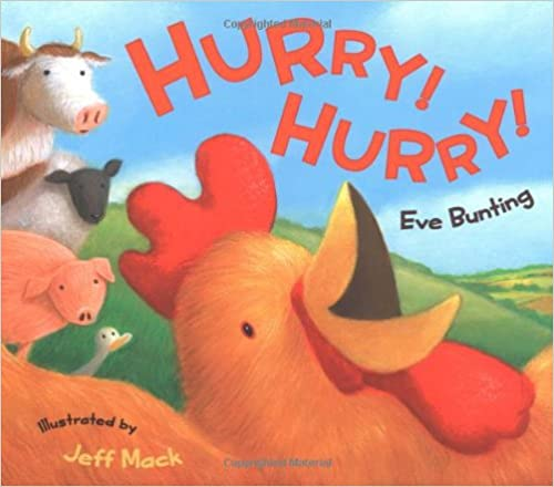 Download books for ipad Hurry! Hurry! by Eve Bunting (Irish Edition) PDF PDB CHM