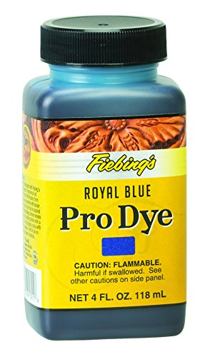 Fiebing's Pro Dye, Royal Blue, 4 oz.