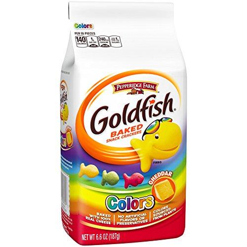 extra cheese goldfish - 6