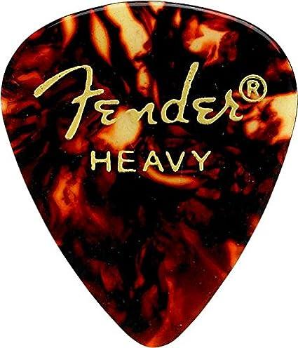 Fender 351 Shape Premium Classic Guitar Picks MEDIUM Tortoise Shell 12-Pack
