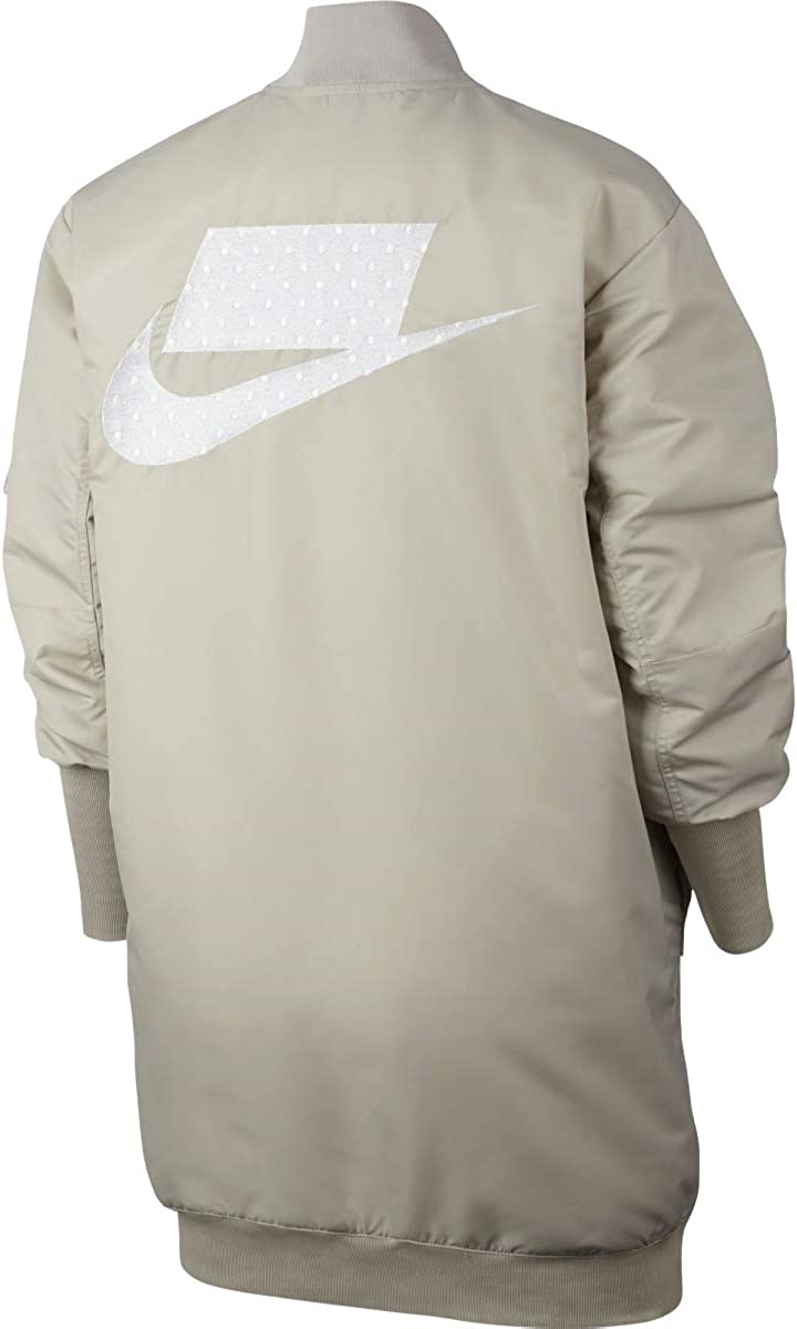 Nike Womens Sportswear NSW Insulated Parka Jacket Cream