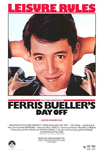 Ferris Bueller's Day Off POSTER Movie (11 x 17 Inches - 28cm x 44cm) (1986) (Style - Day Poster Small