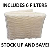 Humidifier Wick Filter for Kenmore Emerson 14906 42-14906 (6 Pack)