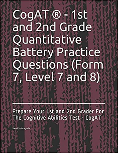 Cogat 1st And 2nd Grade Quantitative Battery Practice Questions