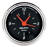 Auto Meter 1484 Designer Black Clock
