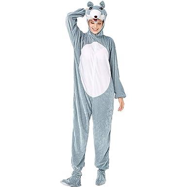 Mymyguoe Pijama de Adulto para Mujer Disfraz de Animal Cosplay ...