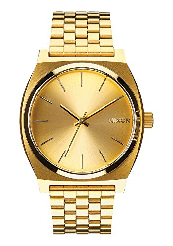 Nixon Time Teller Watch All Gold Gold