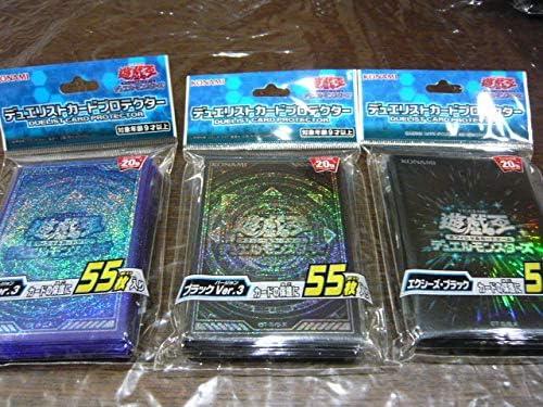 遊戯王 デュエルモンスターズ デュエリストカードプロテクター 3種セット