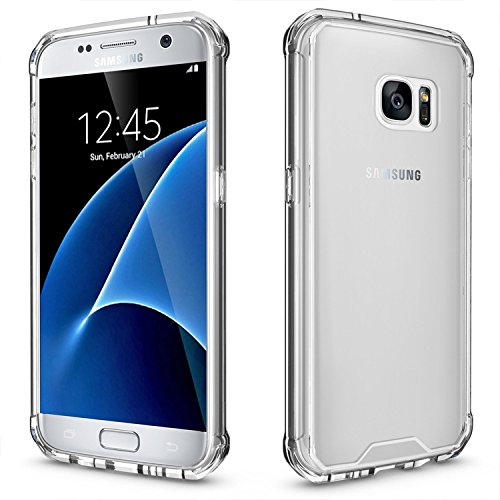 Galaxy S7 Edge Case, Fuleadture soft TPU mobile phone Cover seriously Thin Transparent crysta Protective claim for Samsung Galaxy S7 Edge