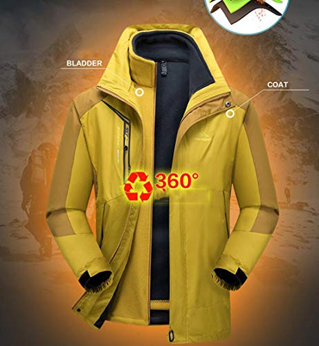 Liner Jacket Windproof Fleece Clothing Dark Blue Warm Mountaineering Waterproof Men's qa4RCt