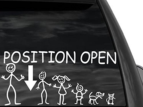 position open car decal - 3