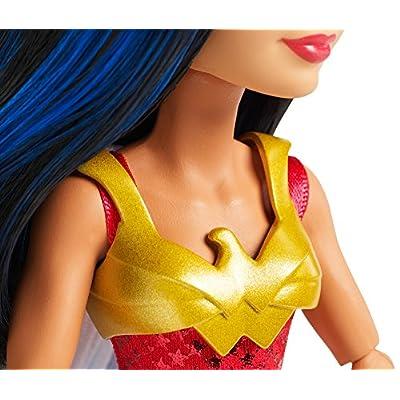 Mattel DC Super Hero Girls Wonder Woman Intergalactic Gala Doll: Toys & Games