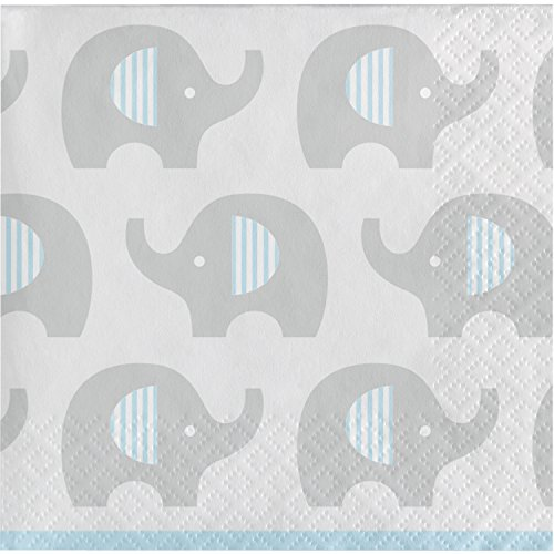 - Little Peanut Boy Elephant Beverage Napkins, 48 ct