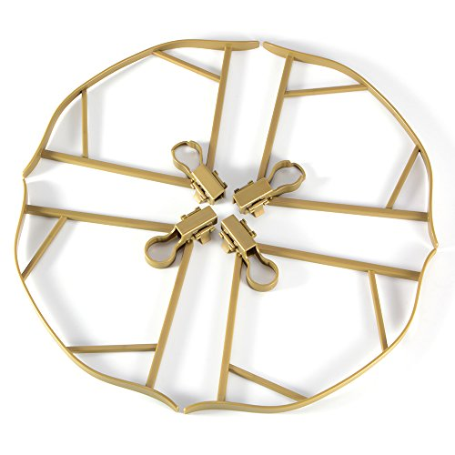 XCSOURCE-4pcs-Propeller-Guard-Prop-Protector-Bumper-Quick-Release-Blade-Safety-for-DJI-Mavic-Pro-Drone-Gold-RC489