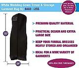Hot Pink Wedding Gown Travel & Storage Garment