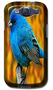 LKPOP Cases / Covers Cute Birds Lovely In The Sky Trees Purple Flowers Cell Phone Case For Samsung Galaxy S3 i9300 No.6