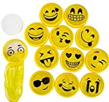Mini Emoji Noise Putty - 24 pc - emoji party favors and toys