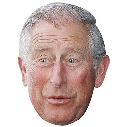 Prince Charles Celebrity Mask, Card Face and Fancy Dress - Prince Mask