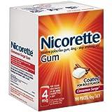 Nicorette Cinnamon Surge Gum, 4mg - Stop Smoking Aid