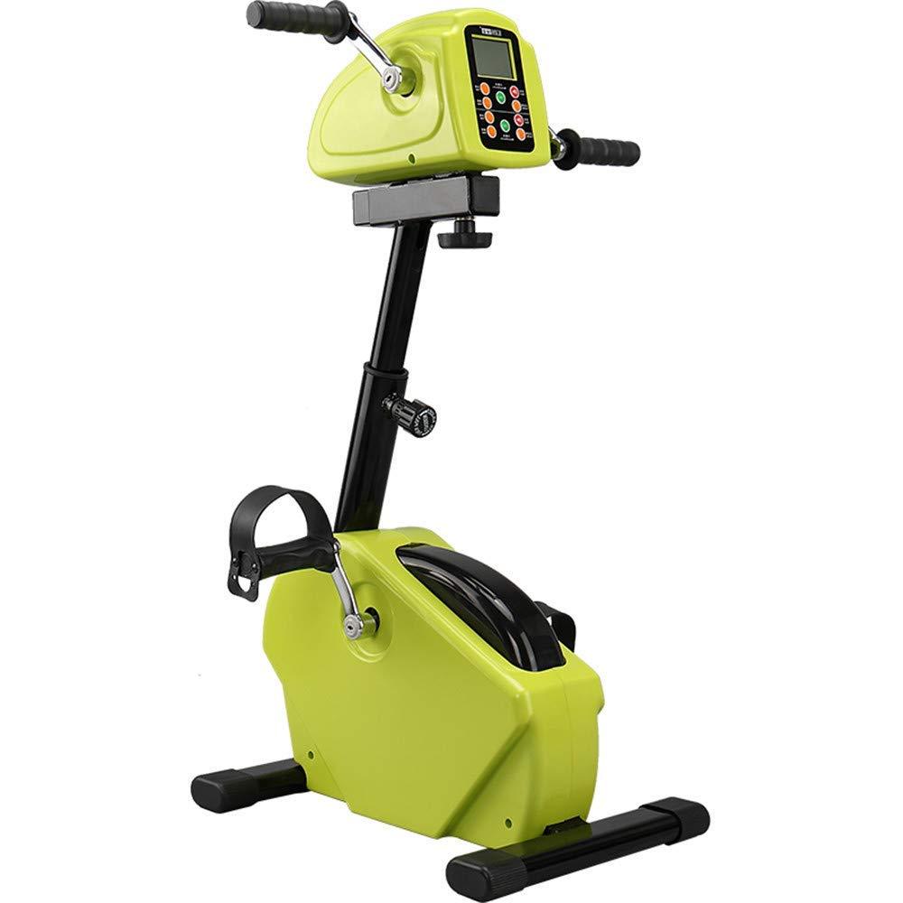 ペダルバイクアームと膝エクササイザ、電子理学療法とハンディキャップのための電動リハビリバイクペダルトレーナー、障害者と脳卒中の生存者   B07RP63VJ9