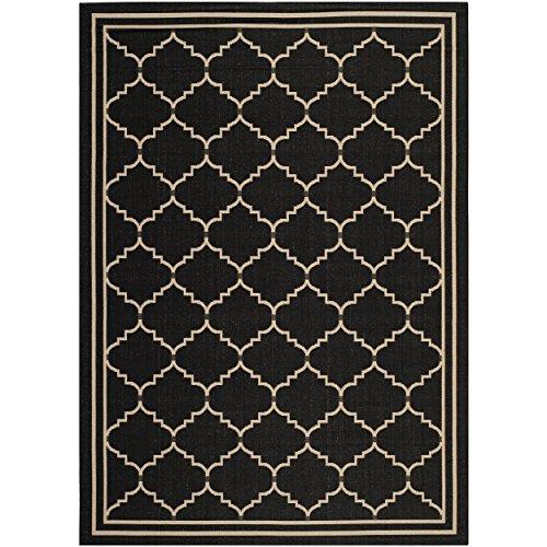 Amazon Com Safavieh Courtyard Collection Cy6889 26 Black