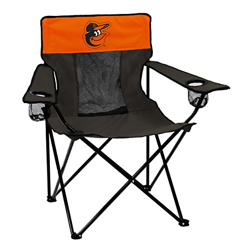 (MLB Baltimore Orioles Elite Chair, Adult, Black)