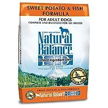 Dick Van Patten's Natural Balance Limited Ingredient Diets Sweet Potato and Fish Formula Dry Dog Food, 26-Pound Bag