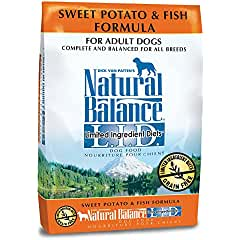 Natural Balance LID Sweet Potato & Fish Formula Dry Dog Food