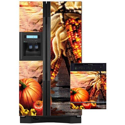 Appliance Art 11171 Appliance Art Fall Harvest Combo Refrige
