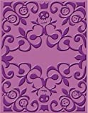 Cuttlebug A2 Holiday Embossing Folder, Skeleton Scroll