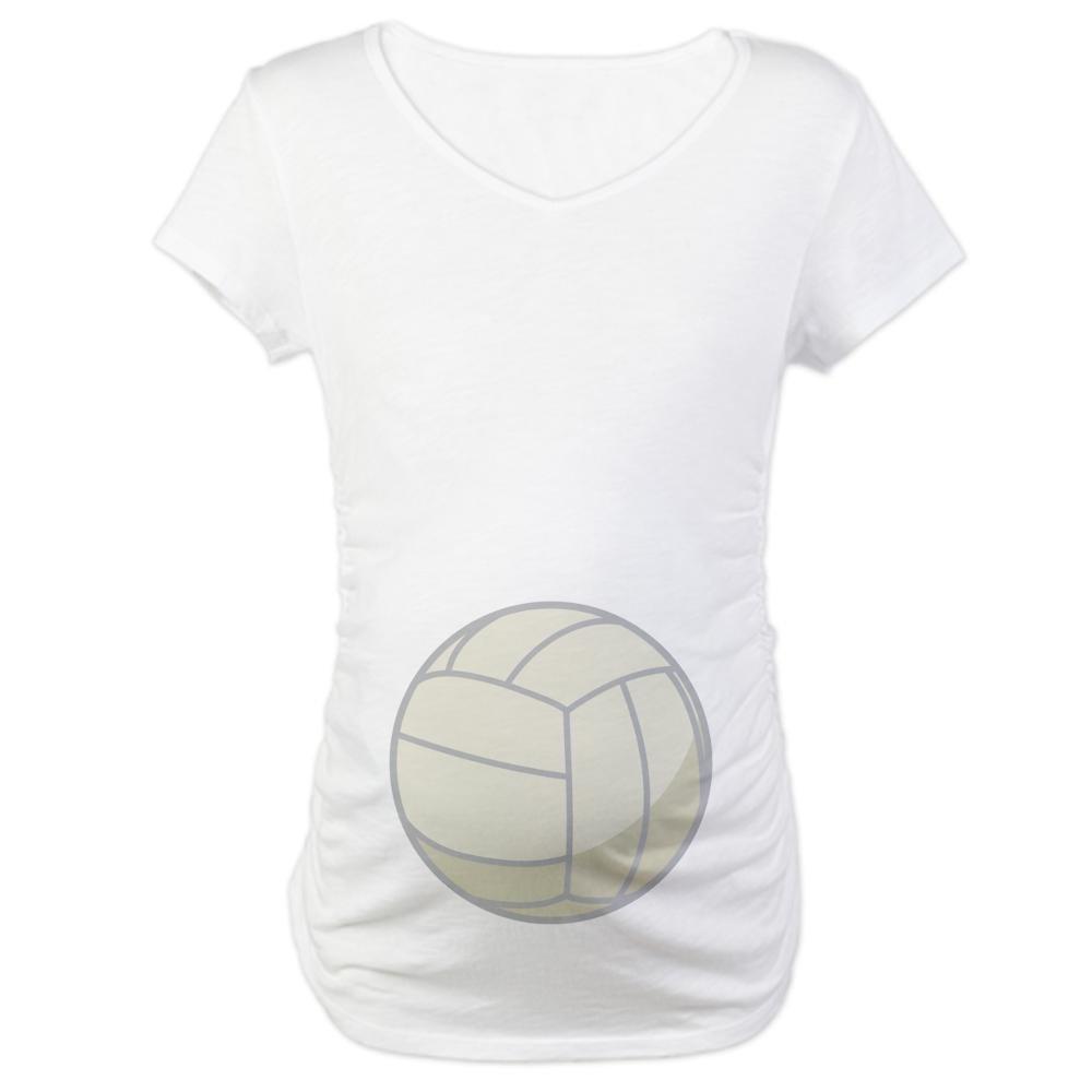 4c90f058e45 CafePress Funny Volleyball Maternity Tee Shirt Maternity Tee White at  Amazon Women s Clothing store