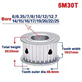 5M 30T Timing Belt Pulley Gear Synchronous Wheel