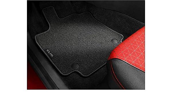 Amazon.es: Renault Clio 4 – Juego de alfombras para parte delantera ...