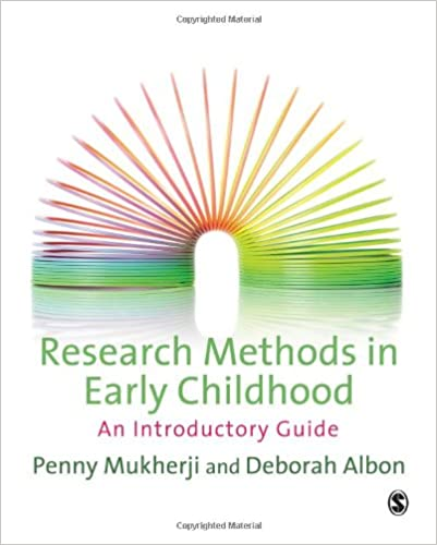 Early Childhood Research Needs Update >> Research Methods In Early Childhood An Introductory Guide Penny