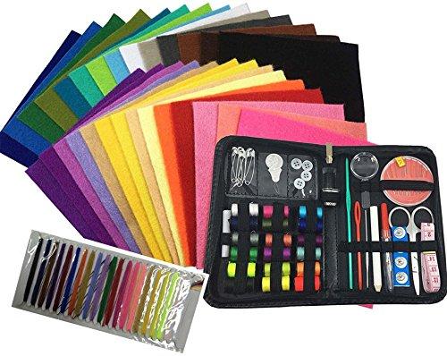 Kit 28 Pcs Match - Misscrafts 41 in 1 Sewing Kit + 28 pcs 6