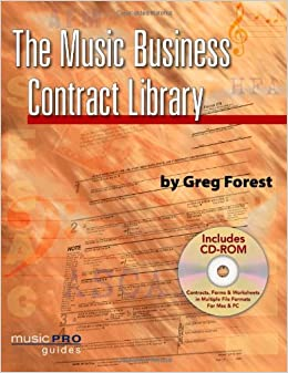 Book The Music Business Contract Library (Hal Leonard Music Pro Guides)