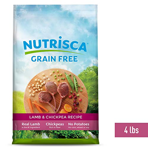 Nutrisca Dog Food, Lamb And Chickpea, 4-Pound Package