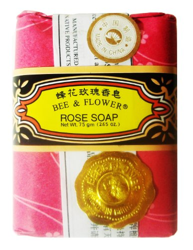 Bee Flower Rose Soap Bars product image