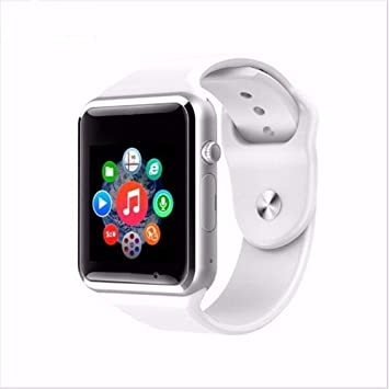 Pcjob - Smartwatch A1 Bluetooth Blanco con SIM gsm Reloj con ...