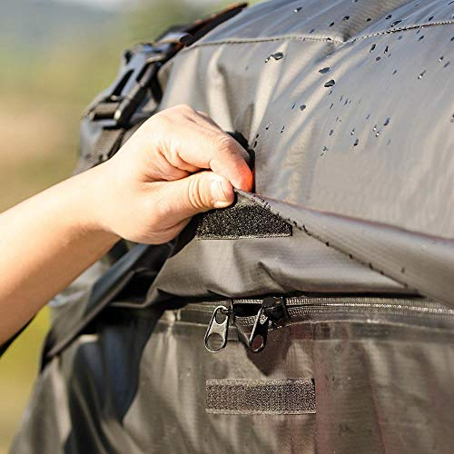 Car Roof Cargo Bag, [2018 Updated] Waterproof Rooftop Cargo Carrier (15 Cf) by Warm Bay (Image #5)