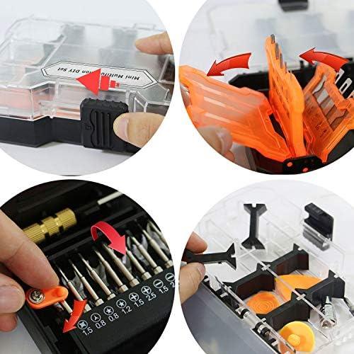 Zhaolan-Meter Industriewerkzeugset MT34 Mini Multifunktions DIY Set Multifunktionsgriff kann von beiden Enden verwendet Werden, um für Verschiedene Verwendungen zu passen. Mini-Werkzeuge