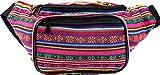 SoJourner Festival Fanny Pack - Boho Packs for men, women | Cute Waist Bag Fashion Belt Bags (orange horz)