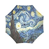 Cute Colorful Tie Dye Spirals Pattern Folding Portable Outdoor Rain /Sun Umbrella Beach Travel Shade Sunscreen For Women/Men