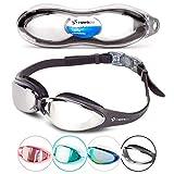 i-Sports Pro Anti-Fog, UV Protected Swim Goggle, Black