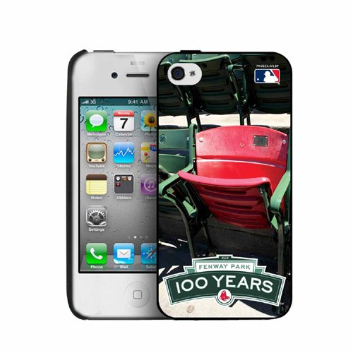 Boston Red Sox 100 Year Anniversary Stadium Collection iPhone 4/4S Cover - Ted Williams (Boston Red Sox Stadium Seat)