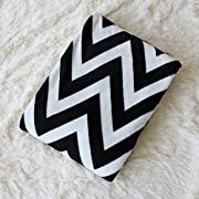 Simple&Opulence Geometric Figure Home Furnishing Super Soft Flannel Fleece Blanket(Black)