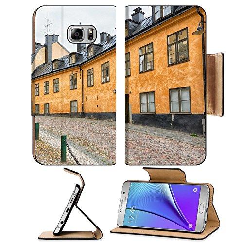 Liili Premium Samsung Galaxy Note 5 Flip Pu - Stockholm Lantern