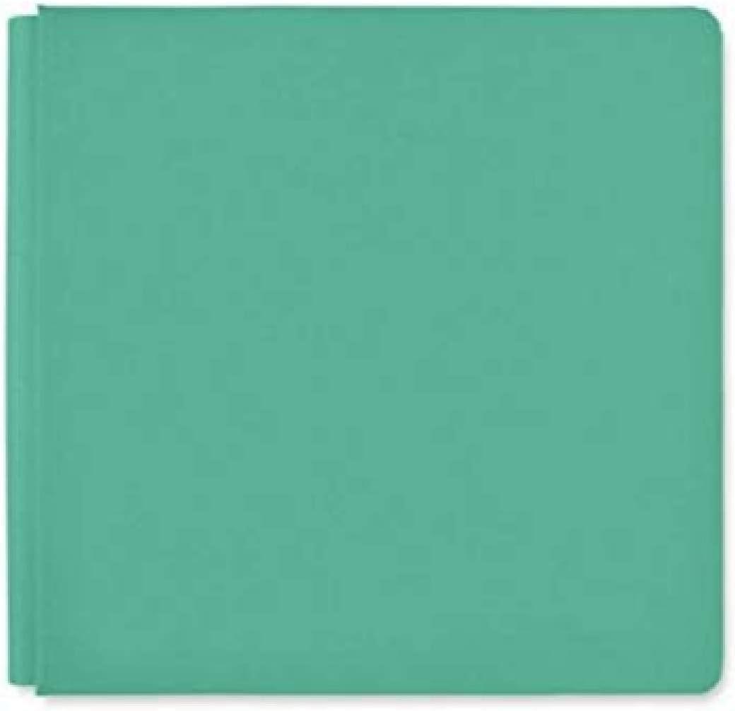 12x12 Jade Light Green Blend & Bloom Album Book Cloth Cover 12 x12 True Size Creative Memories Scrapbook Photo Album